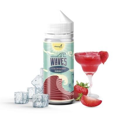 Waves Strawberry Sorbet 120ml